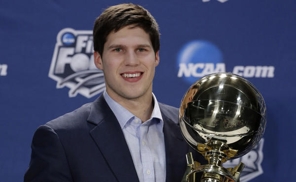 Creighton star Doug McDermott was named the Associated Press college basketball player of the year on Thursday.