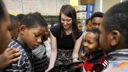 City names 2014 Teacher of the Year
