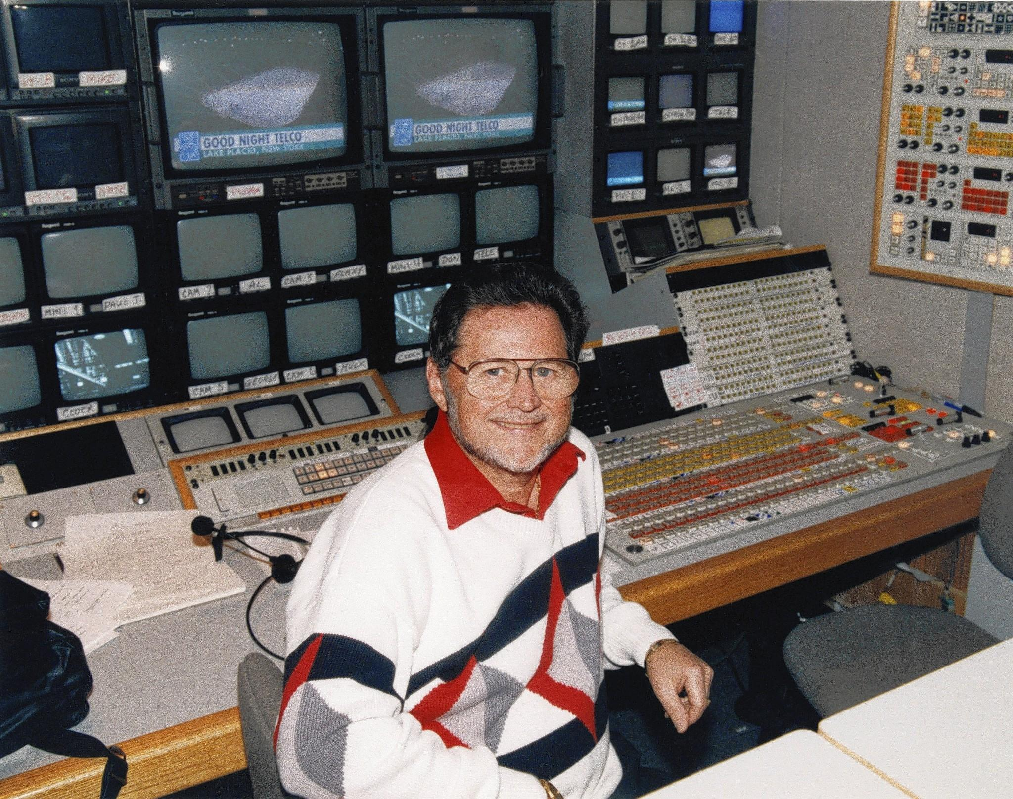 Television sports director Sandy Grossman in 1993. He directed a record 10 Super Bowl broadcasts and spent more than two decades working with announcers Pat Summerall and John Madden. He died at his home in Boca Raton, Fla., at the age of 78.