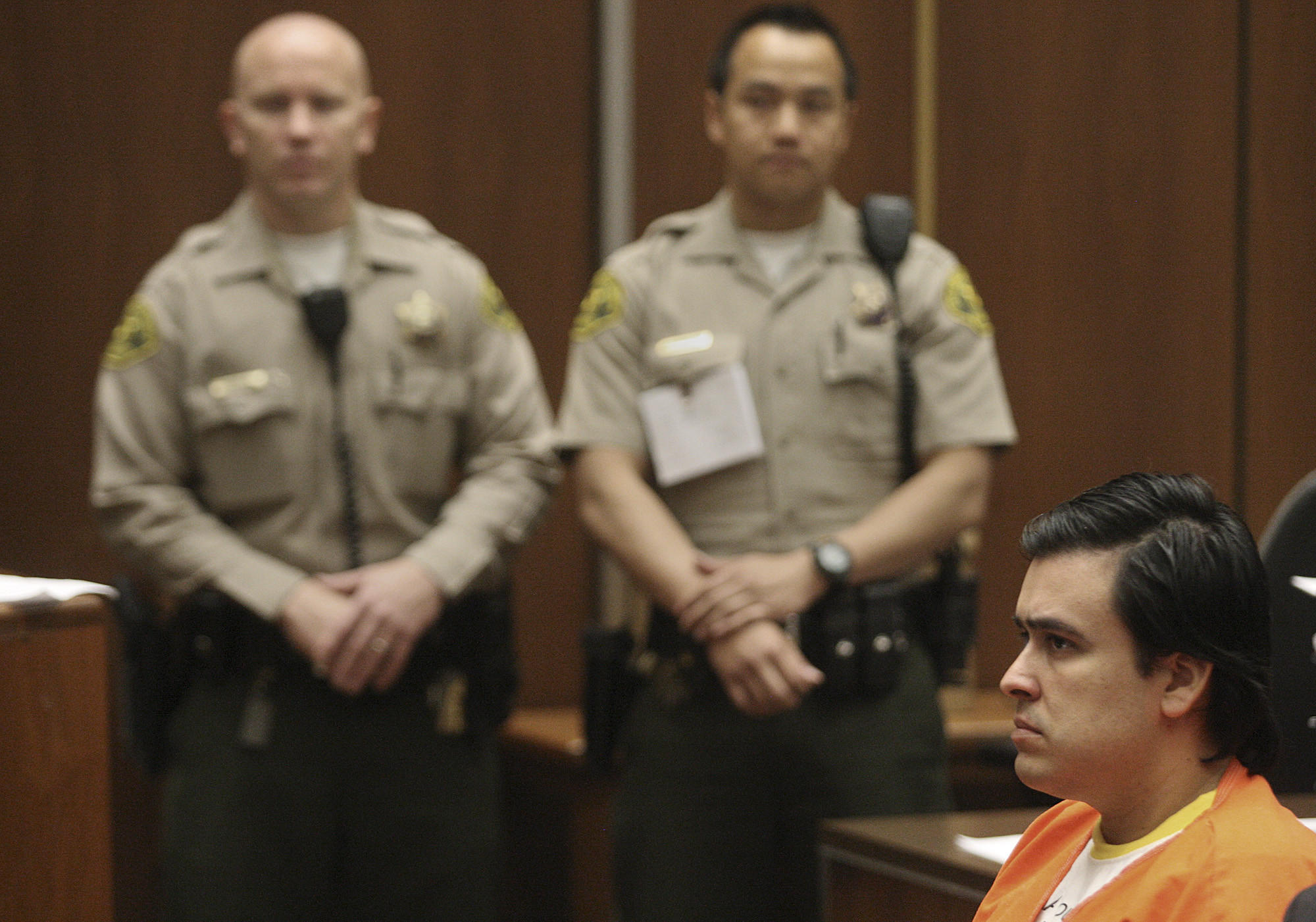 Jose Rigoberto Sanchez, former Los Angeles County sheriff's deputy, was sentenced Friday to nine years in state prison.