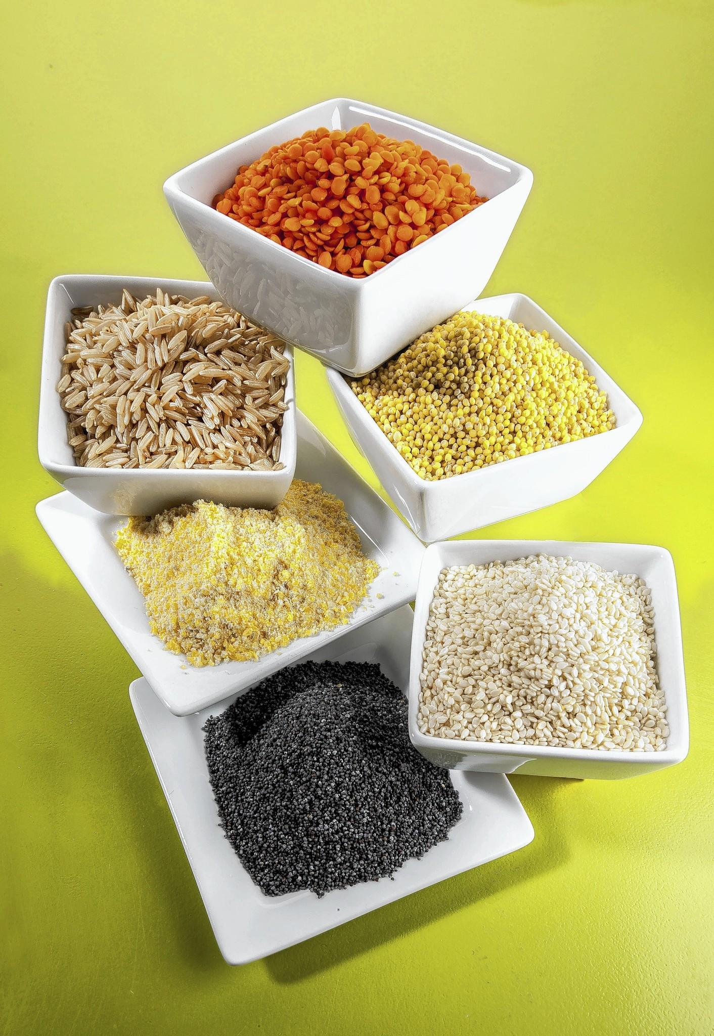 Various grains that must be avoided by Ashkenazic Jews during Passover.