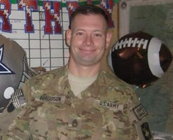 Sgt. 1st Class Daniel Michael Ferguson, 39, whose home is listed as Mulberry, Fla., was one of three killed in Wednesday's shooting at Ft. Hood, Texas.