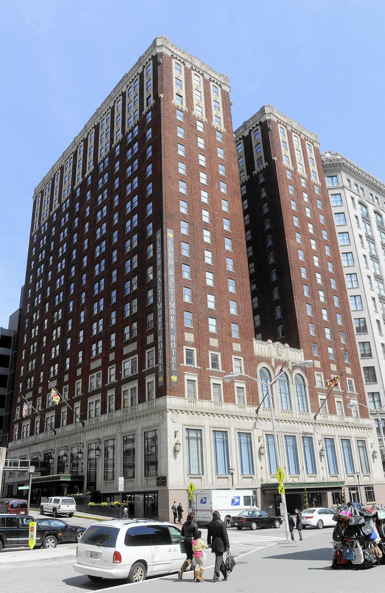 The Lord Baltimore Hotel downtown has been recently renovated.