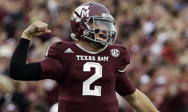 Former Texas A&M quarterback Johnny Manziel's impressive pro day performance helped propel him to the top Sam Farmer's latest mock draft.