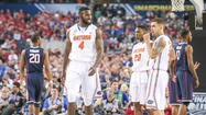Pictures: Gators, UConn in the Final Four