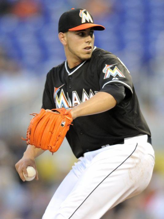 Marlins ace Jose Fernandez improved to 11-0 at home in his young career. (Steve Mitchell, USA TODAY Sports)