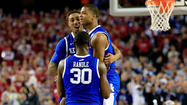 Kentucky, Aaron Harrison do it again with dramatic win over Wisconsin