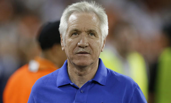 U.S. Soccer fired women's national team coach Tom Sermanni after a 2-0 exhibition win over China on Sunday.