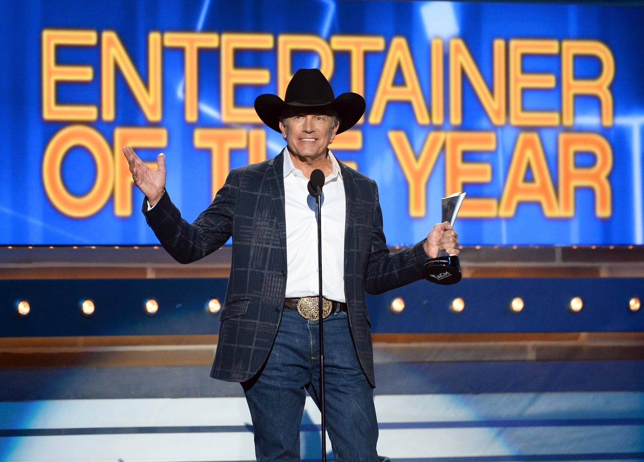 Time for 49th academy of country music awards from las for Academy of country music award for video of the year
