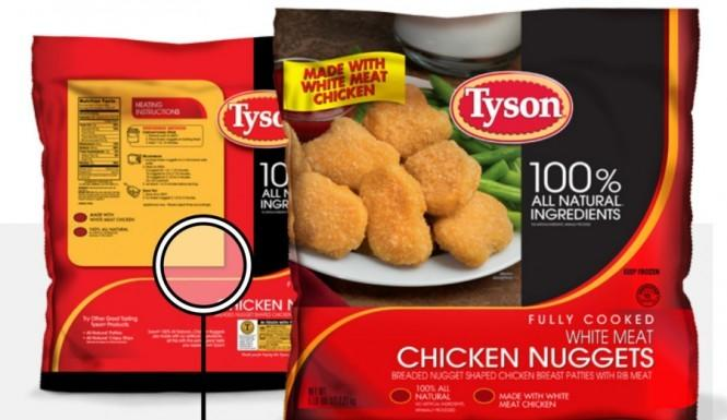 Tyson Foods has recalled 75,000 pounds of chicken nuggets that contained pieces of plastic.