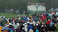 Severe weather halts Monday practice at the Masters