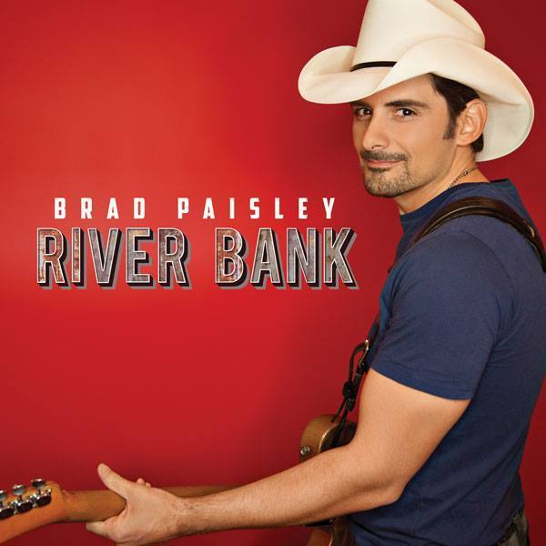 "Brad Paisley performed his new single, ""River Bank,"" on Sunday night's Academy of Country Music Awards."