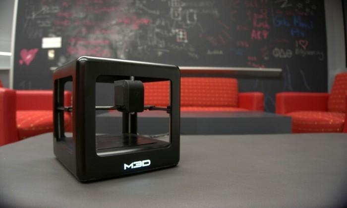The Micro 3-D printer began crowdfunding Monday on Kickstarter. It reached its goal of $50,000 in 11 minutes but will continue collecting pledges for another month.