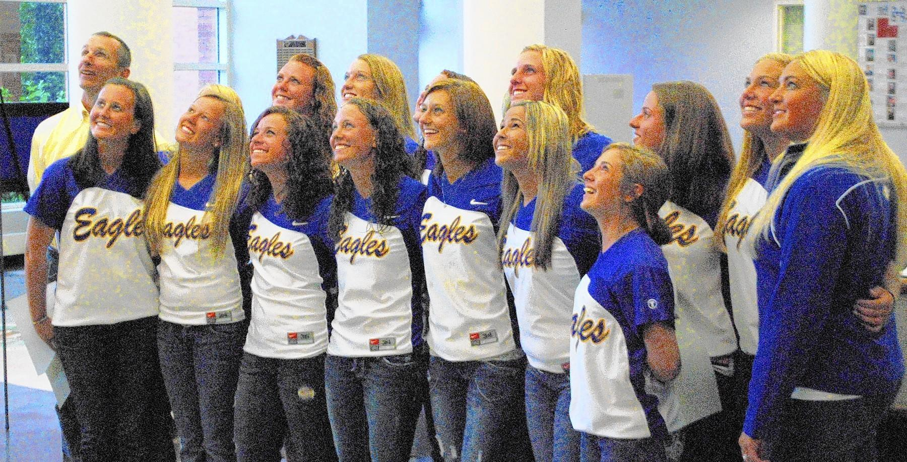 Sandburg Eagles softball team.