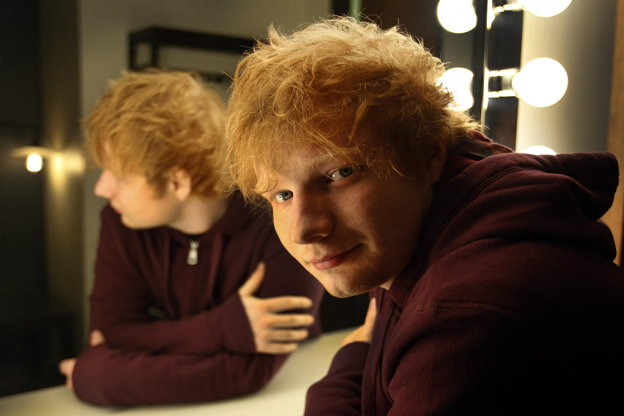 "Ed Sheeran's new single is ""Sing."""