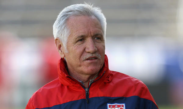 U.S. Soccer fired women's national team coach Tom Sermanni following an exhibition win over China on Sunday.