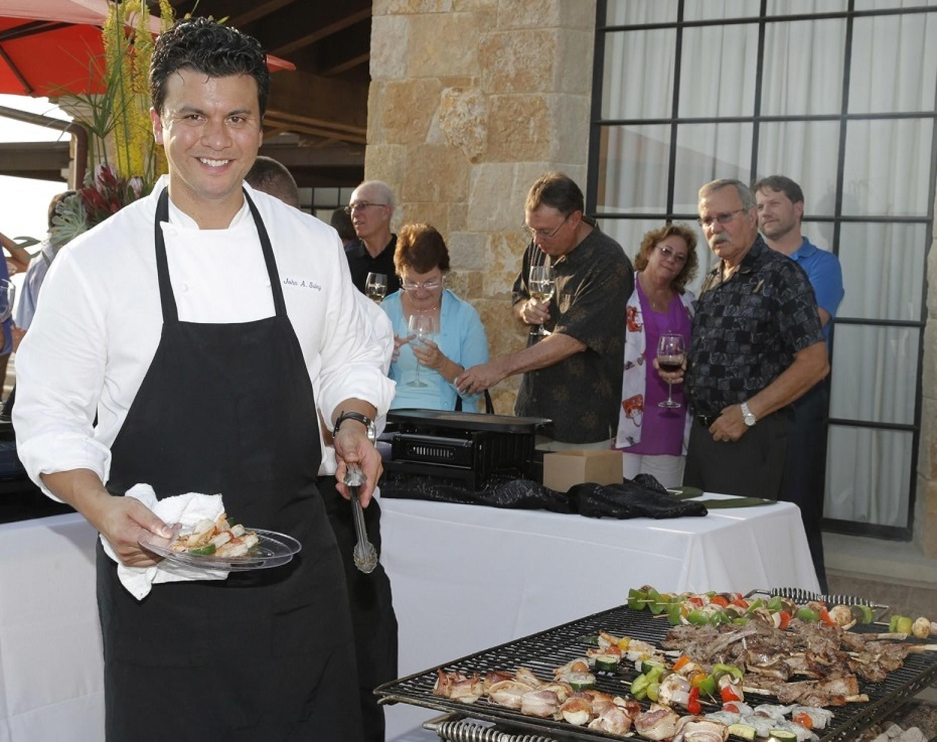 Celebrity Cruises executive chef John Suley, pictured at an event last year in Malibu, will be serving up dishes generally found in the restaurants of Celebrity Cruises ships at a festival next month in Irvine.