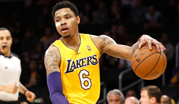 Lakers guard Kent Bazemore will miss the remainder of the season because of a torn foot tendon.