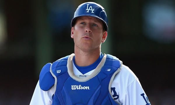 The Dodgers placed catcher A.J. Ellis on the disabled list Monday.