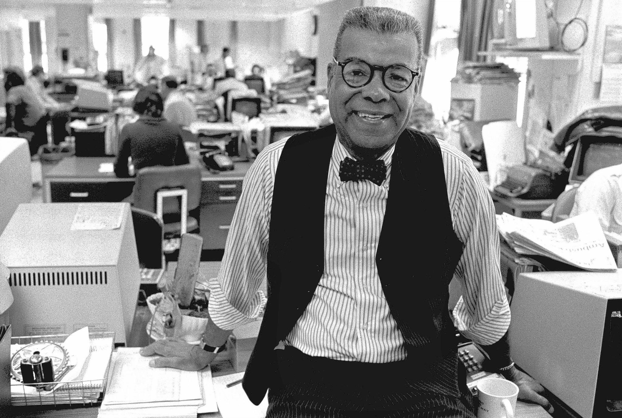 "Charles Sumner ""Chuck"" Stone Jr. was the first black columnist for the Philadelphia Daily News, where he worked as a columnist and editor from 1972 to 1991."