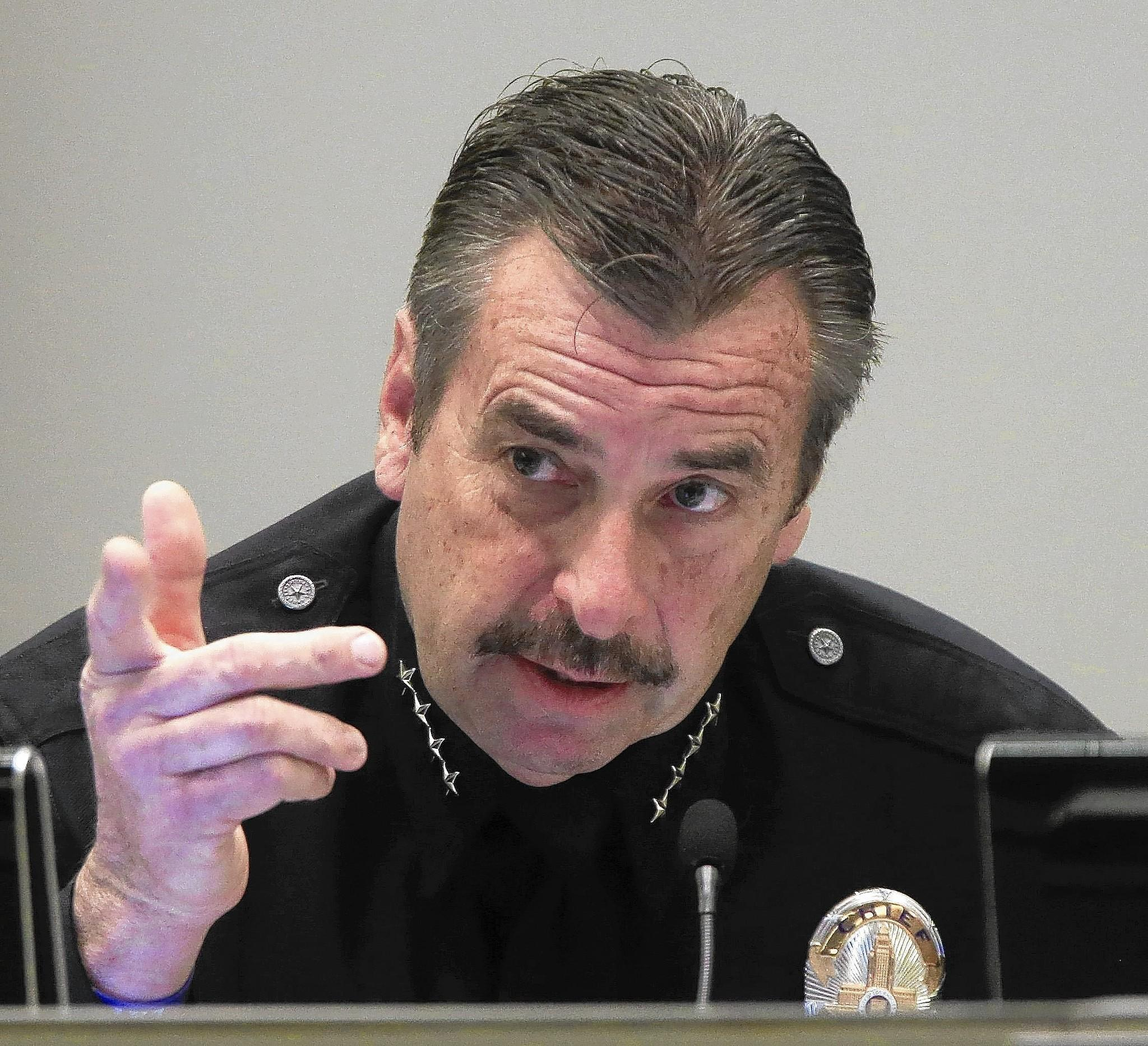 LAPD Chief Charlie Beck and other top officials learned about officers tampering with recording equipment last summer but chose not to investigate which officers were responsible.