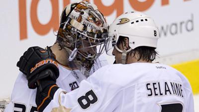 Ducks' Goalie John Gibson Posts Shutout In NHL Debut