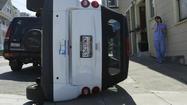 Smart car vandalism