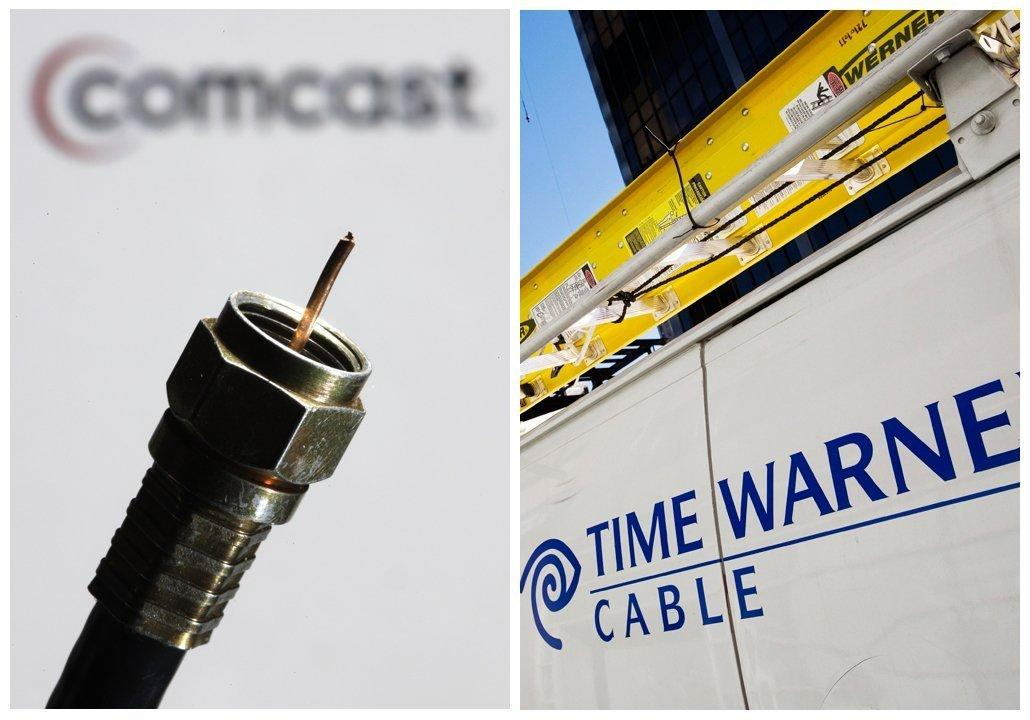 Comcast and Time Warner Cable are trying to merge.