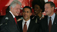 Bill Clinton endorses Anthony Brown