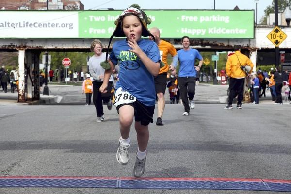 The Ravenswood 5K is just one of many Chicago races in April.