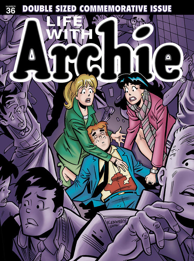 Life with Archie #36 issue.