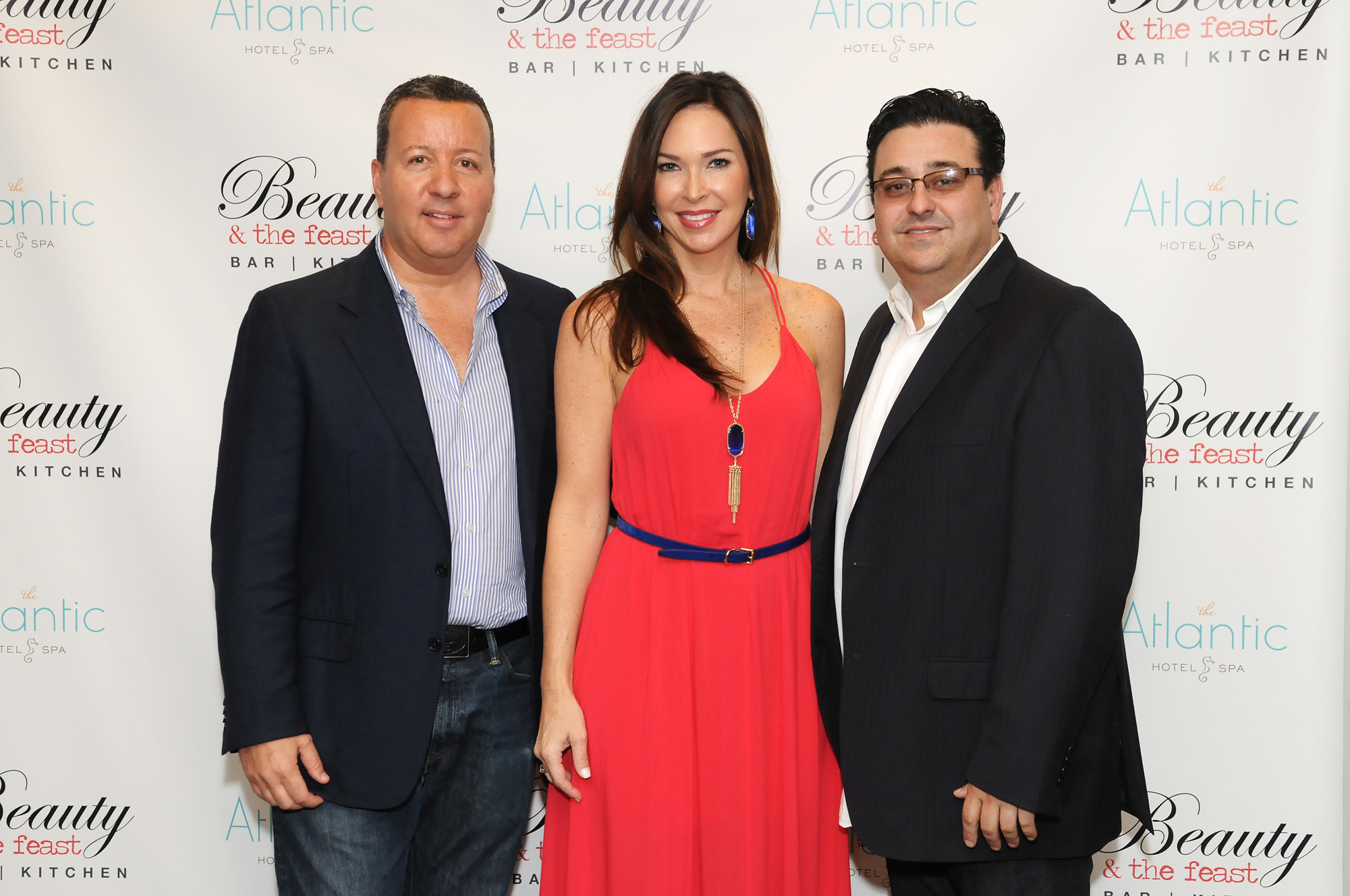 Society Scene photos - Rob Kaliner, owner of The Atlantic Hotel & Spa with Susan and Steven Dapuzzo of Beauty & the Feast