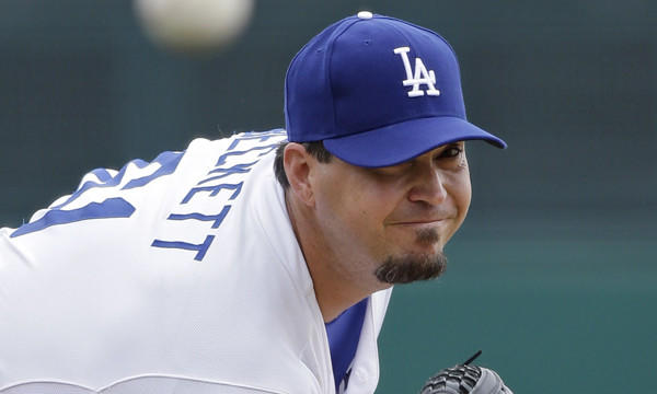 Dodgers pitcher Josh Beckett is set to make his season debut against the Detroit Tigers on Wednesday.