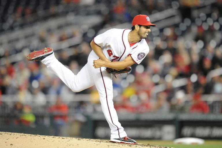Hialeah-born Gio Gonzalez shut out the Marlins through six innings in the Nationals' 5-0 win over the Marlins at Nationals Park Tuesday.