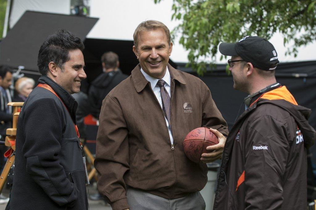 """Draft Day,"" starring Kevin Costner, got a thumbs up from the NFL."
