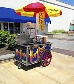The Hot Dog Lady has operated a street vendor business in Elmhurst for 23 years.