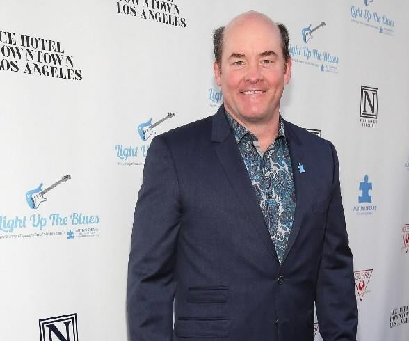 David Koechner attends the Light Up The Blues Concert at The Theatre At Ace Hotel on April 5, 2014 in Los Angeles.