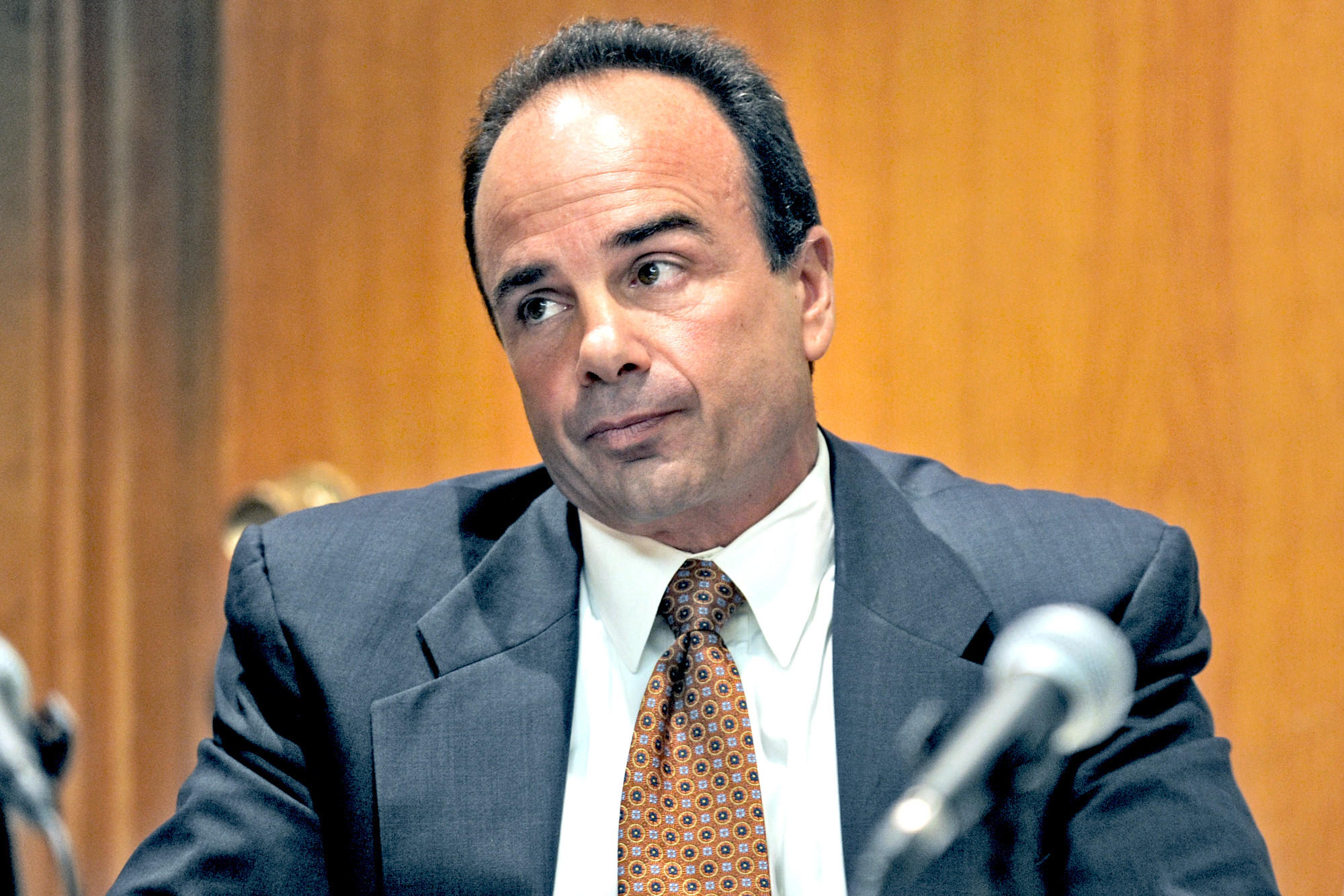 Former Bridgeport Mayor Joseph Ganim in Superior Court, in Bridgeport in 2012.