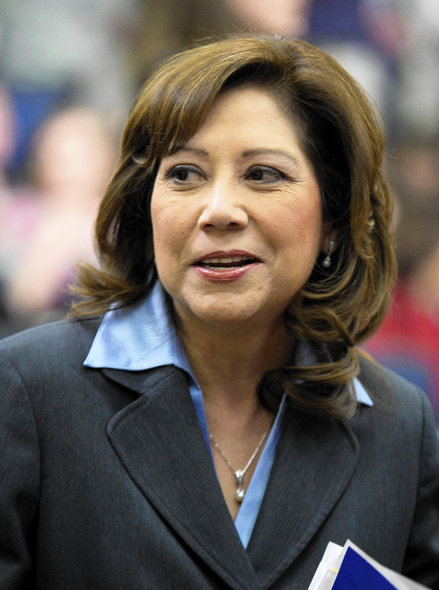 Former U.S. Labor Secretary Hilda Solis is running to succeed outgoing L.A. County Supervisor Gloria Molina.