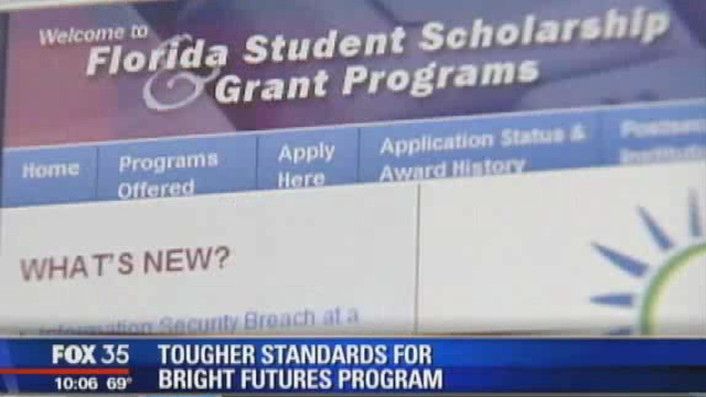 Florida could see drop in Bright Futures scholarships