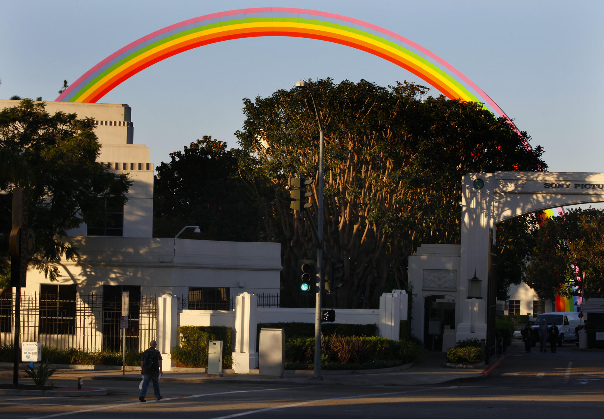 Sony Pictures Entertainment's Culver City headquarters.