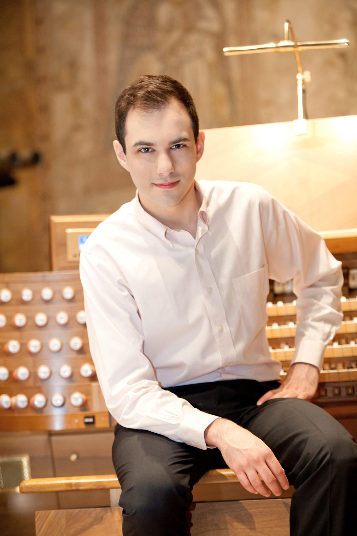 Organist Christopher Houlihan will give a free concert at Rollins College.