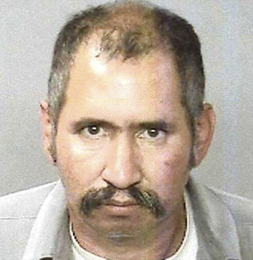 This undated photo provided by the Tulare County district attorney shows Jose Manuel Martinez. Prosecutors say Martinez was a contract killer and have charged him with murder in the deaths of nine people in California.