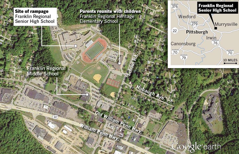 Pennsylvania high school stabbing