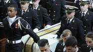 For third time in two months, Naval Academy says goodbye to a shipmate