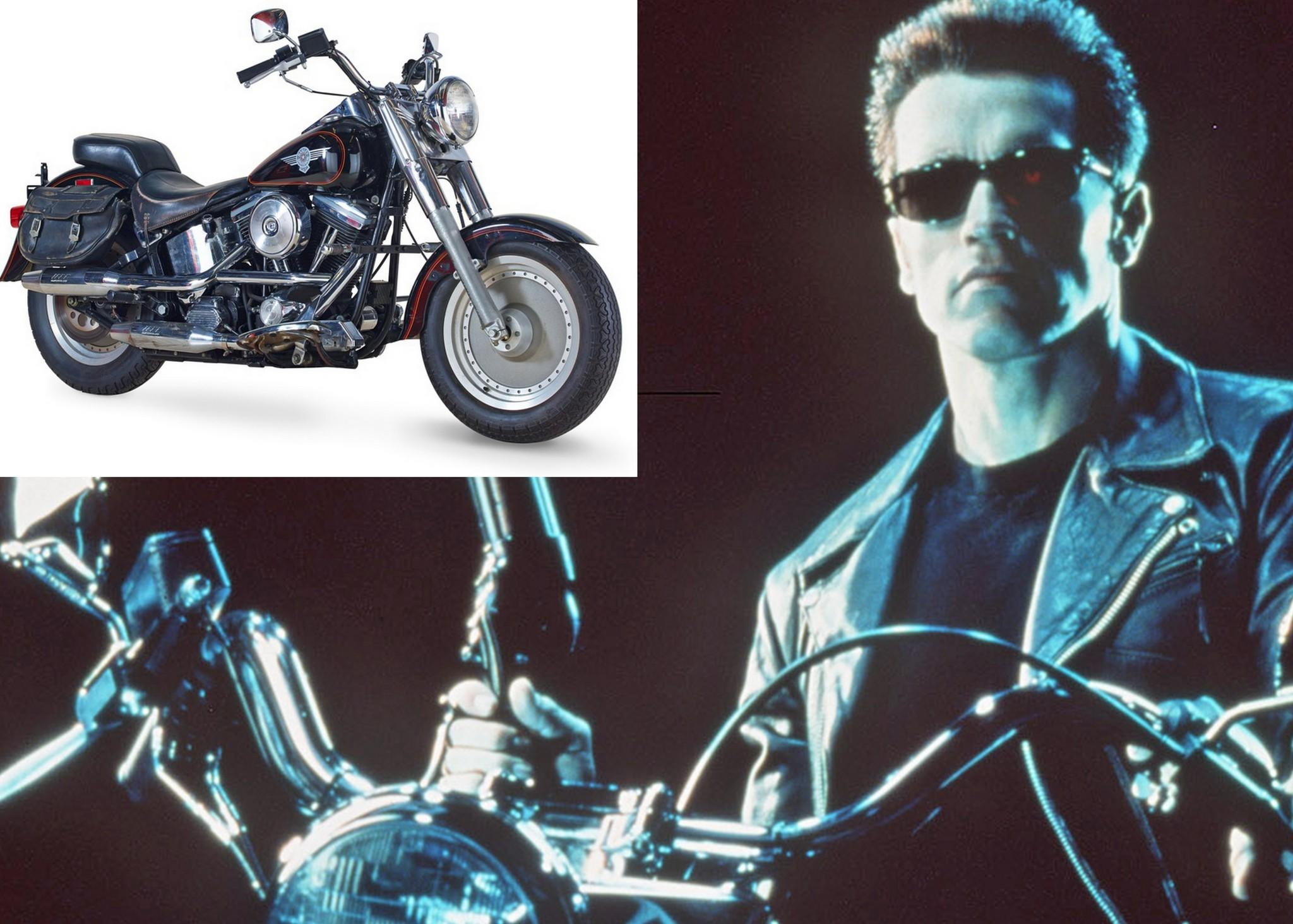 terminator 2' motorcycle, other props stopmilwaukee harley