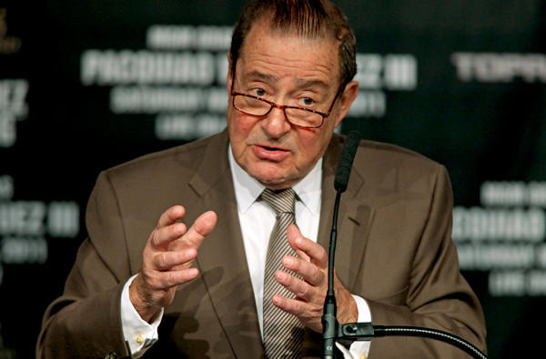 Boxing promoter Bob Arum has never been one to pull a punch when it comes to critical cmments.