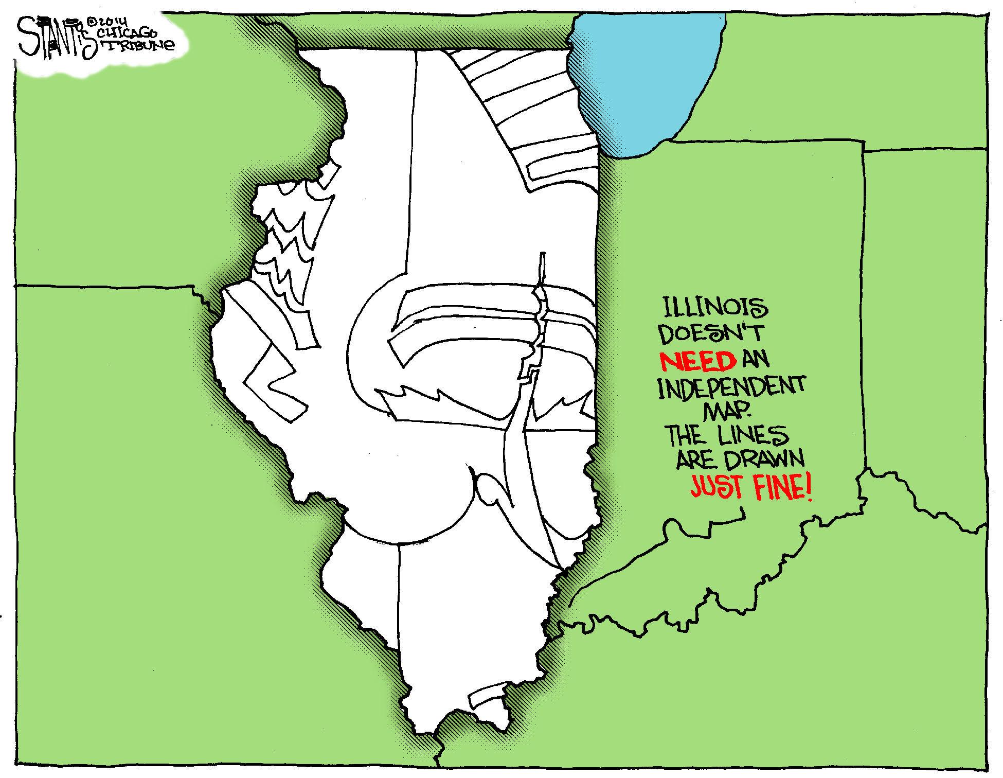 illinois remap amendment clears hurdle tribunedigital chicagotribune