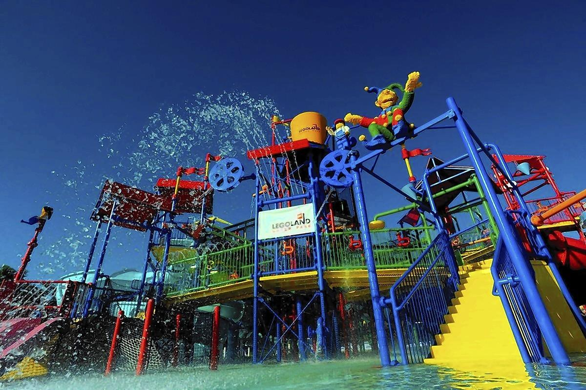 Joker Soaker at Legoland Water Park, Winter Haven