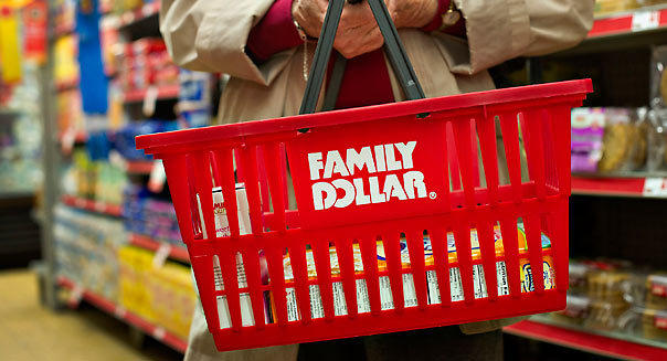 A customer shops at a Family Dollar store in Sterling, Ill.
